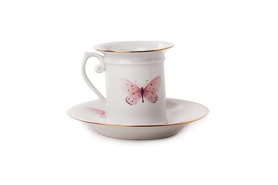 """Coffee pair """"Butterflies"""""""