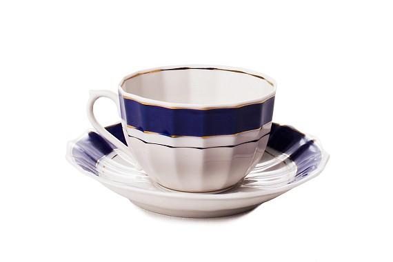 """Tea pair """"Admiral""""."""