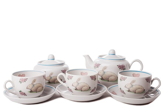 "Tea set ""Pink dreams""."