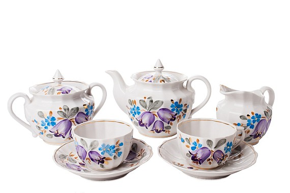 """Tea set """"Bell""""."""