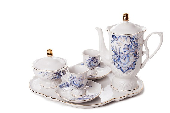 "Coffee set ""Dawn"""