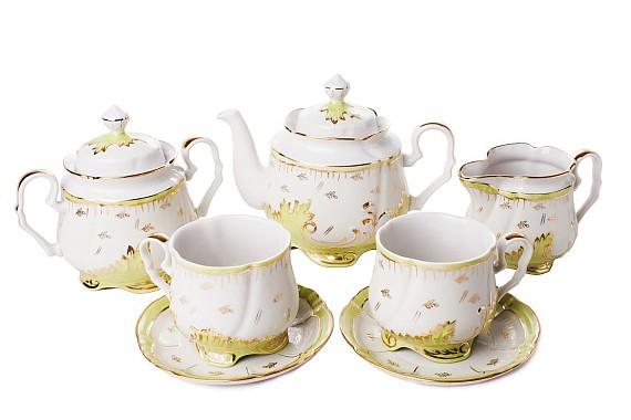 """Tea set """"Emerald""""."""