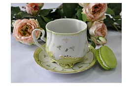 "Tea set ""Emerald""."