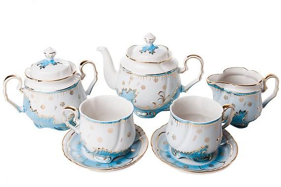 """Tea set """"Opalovy""""."""