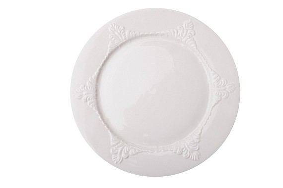 "Plate flat ""Sevres""."