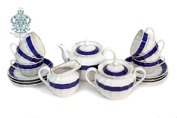 "Tea set ""Admiral""."