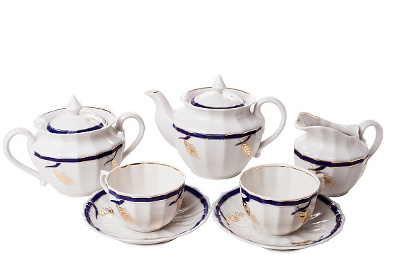 "Tea set ""Kolosok""."
