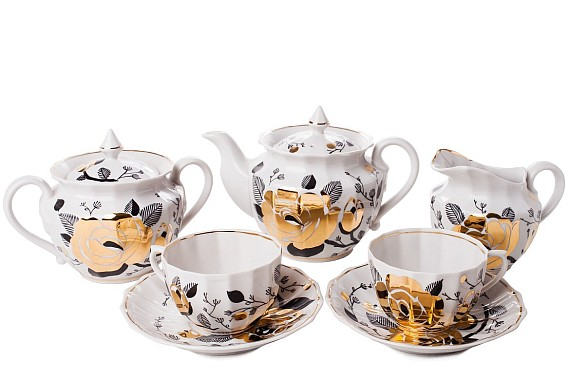 "Tea set ""Vetka""."