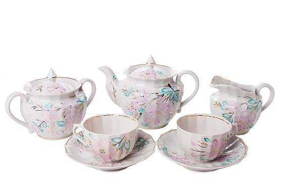 "Tea set ""The Bride""."