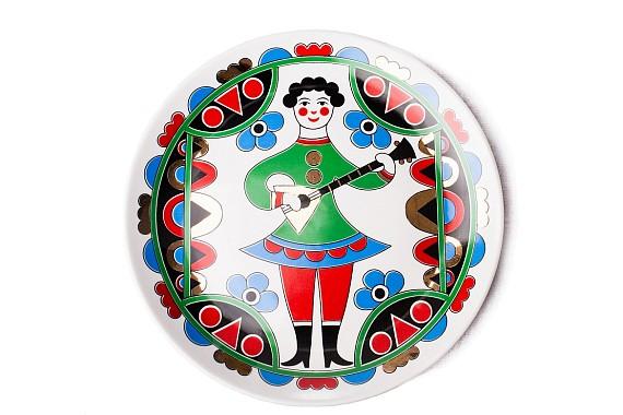 """Plate """"Balalaika"""""""
