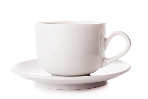 "Cup and saucer ""Augustus""."