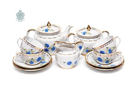 """Tea set """"Cornflower"""""""