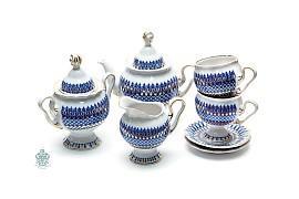 "Чайный сервиз ""Сапфир"""