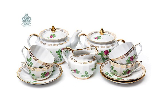 "Tea set ""Clover"""