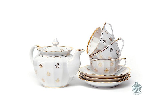 "Tea set ""Royal""."