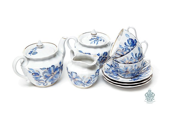 "Tea set ""Malva""."