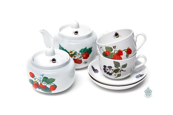 "Чайный сервизс""Летний сад"""