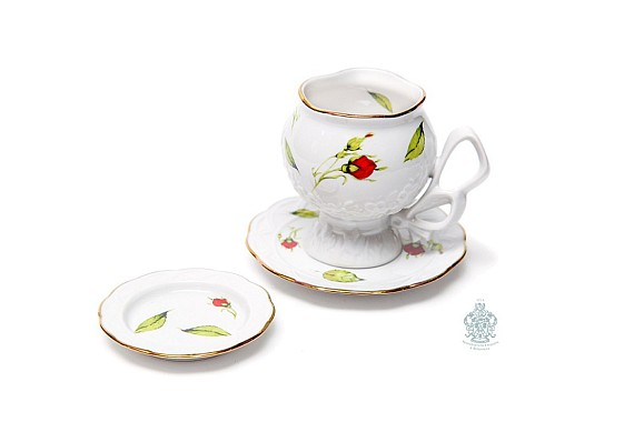 """Tea pair """"Buds scattered""""."""