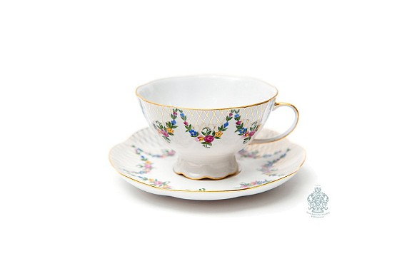 "Tea pair ""English garden""."