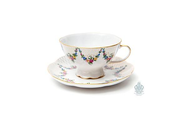 """Tea pair """"English garden""""."""