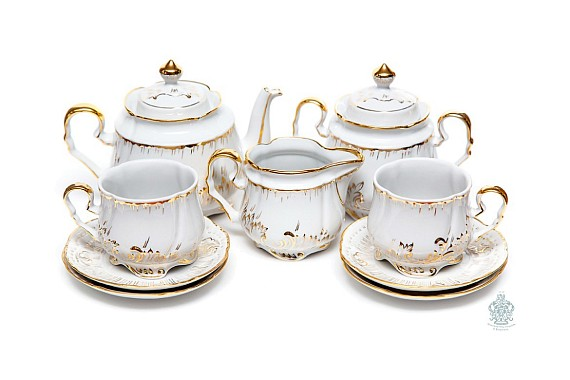 "Tea set ""Gilding""."