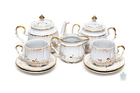 "Tea set ""Gilding""."