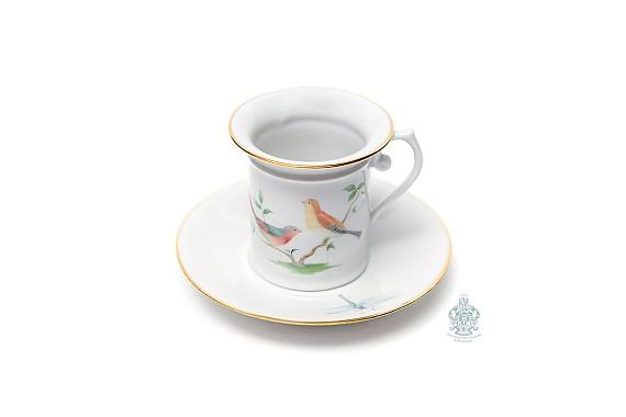 """Coffee pair """"Birds"""""""