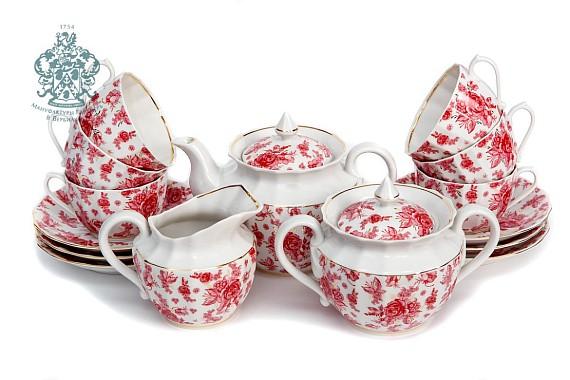 """Tea set """"Astra pink""""."""