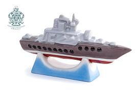 """Скульптура """"Ракетный крейсер"""""""