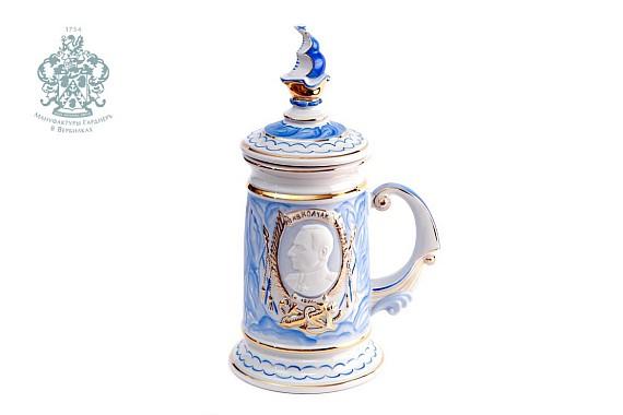 """Mug of sovereign """"Kolchak"""" (marble)"""