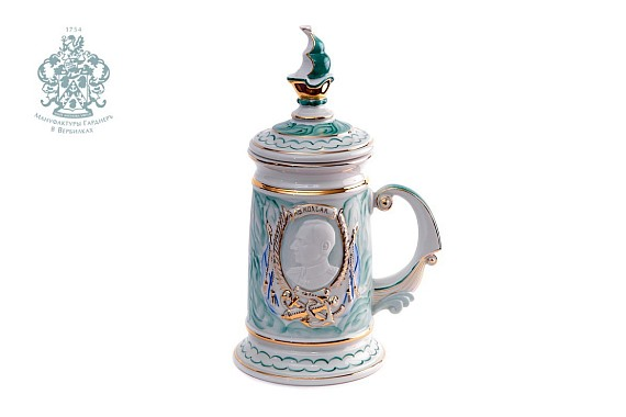 """Souvenir mug """"Kolchak"""" (malachite)"""
