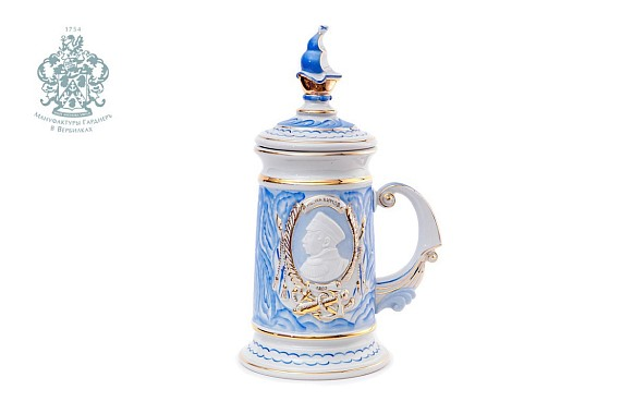 "Souvenir mug ""Nakhimov"" (marble)"