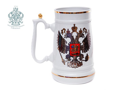 "Mug ""Platinum coat of arms"" 2500 ml"