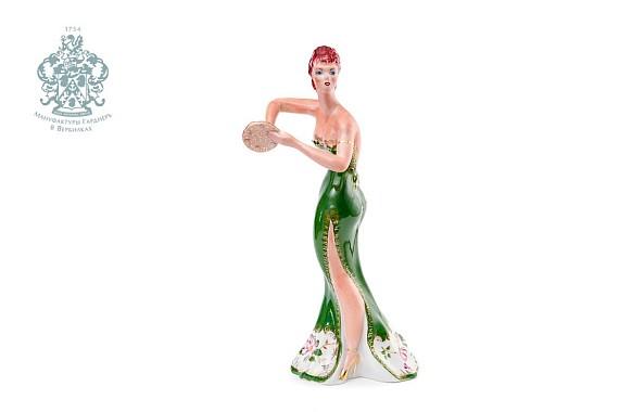 """Sculpture """"Dancer in green"""""""