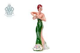 """Скульптура """"Танцовщица в зеленом"""""""