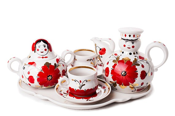"Tea set ""Veselushki""."