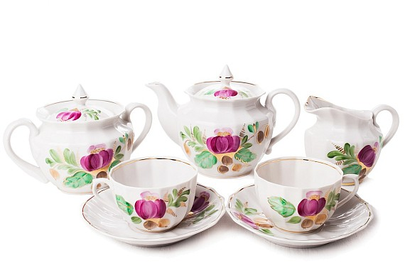 "Tea set ""Rosehip""."