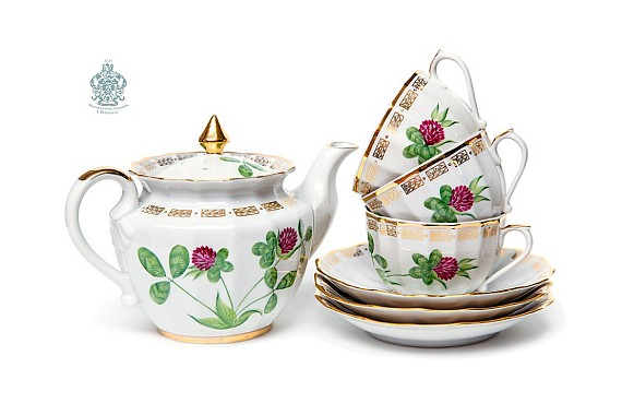 "Tea set ""Clover""."