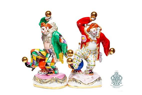 "Скульптура ""Клоун с шарами"""