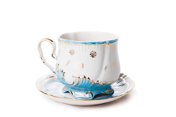 """Tea pair """"Opal""""."""
