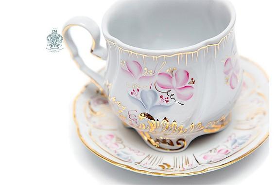 """Чайный сервиз """"Весенний Версаль"""""""