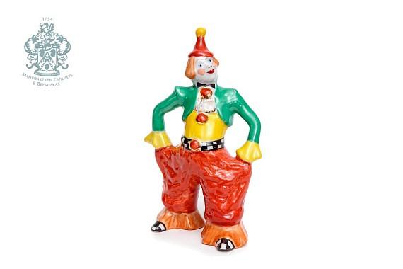 """Скульптура """"Клоун"""" в красных шароварах"""