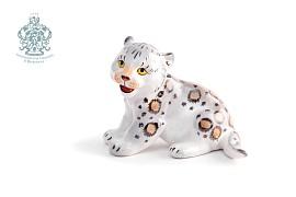 """Sculpture """"Snow leopard"""""""