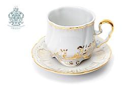 """Чайная пара """"Позолота"""""""