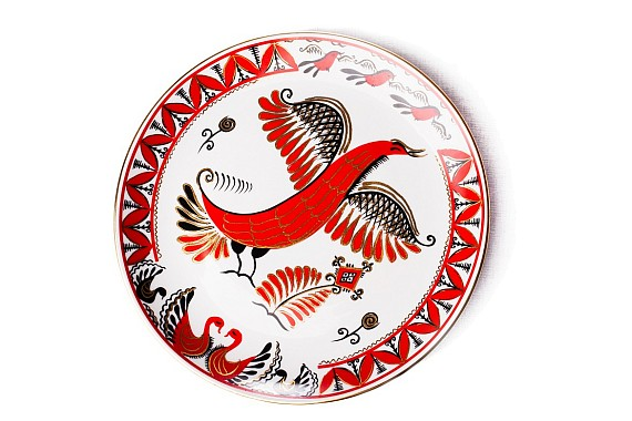 """Plate """"Firebird"""""""