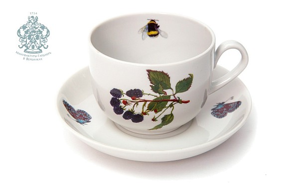"Tea pair ""Blackberries"""