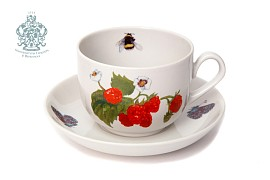 """Tea pair """"Raspberries"""""""
