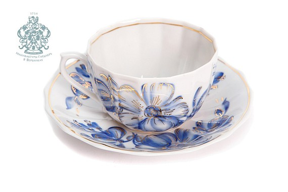 """The Malva"" tea pair"