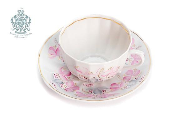 "Tea pair ""Spring Versailles""."