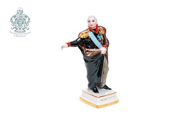 "Скульптура ""Генерал Голенищевъ-Кутузовъ"""